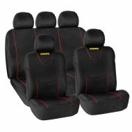 MOMO Car seat covers, suede, 11 pieces/set