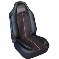 MOMO Car seat cushion with headrest, PVC+suede, 1 piece