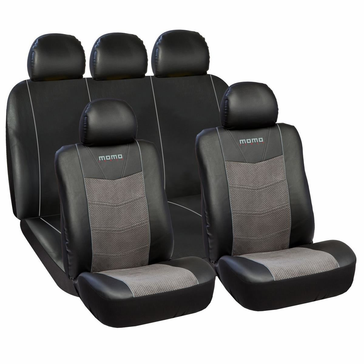 momo car seat covers momo pvc suede 11 pieces set. Black Bedroom Furniture Sets. Home Design Ideas